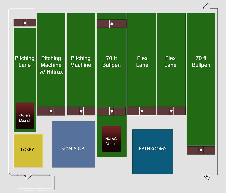 Individual Rental Floor Map